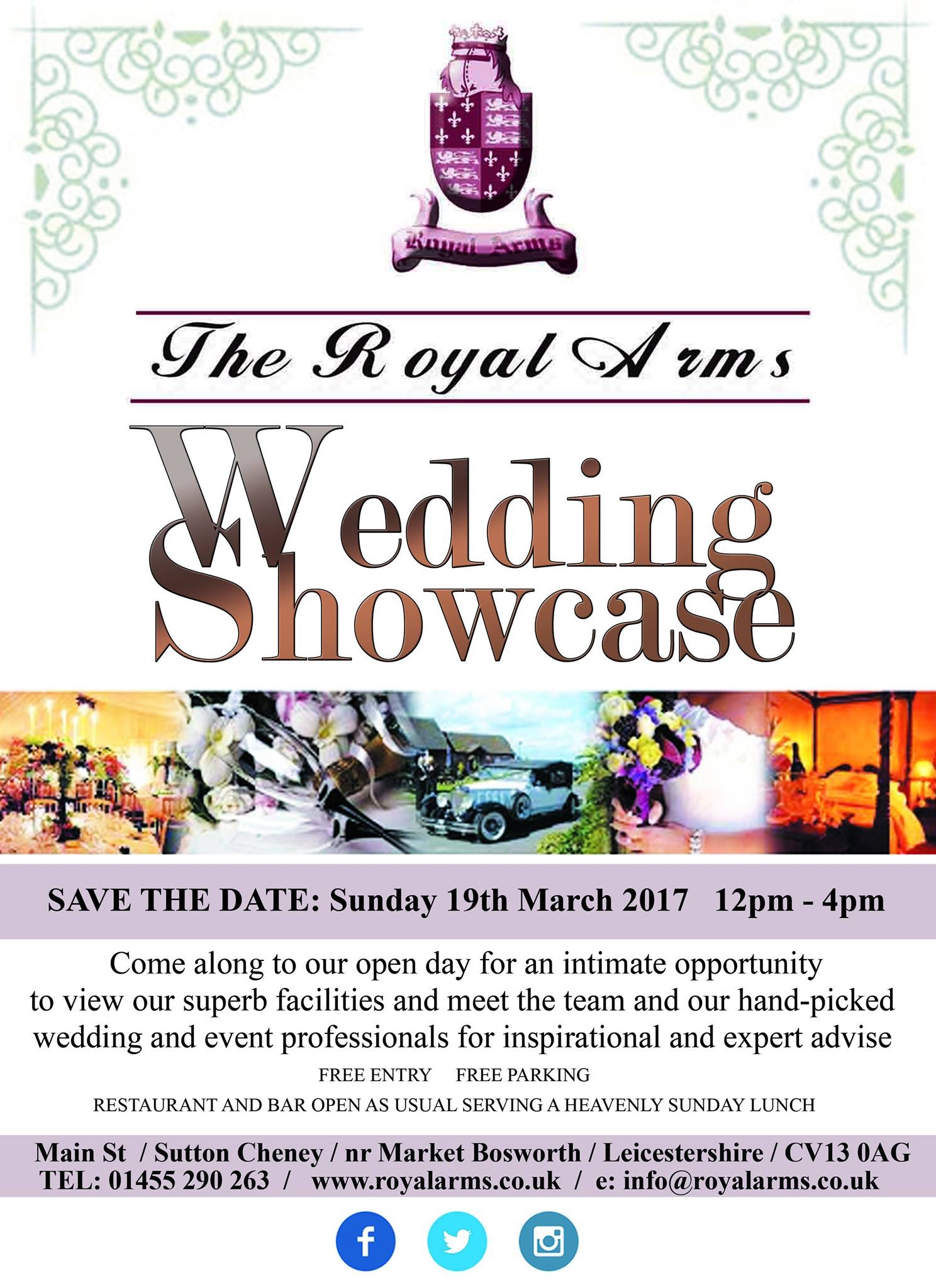 wedding showcase poster